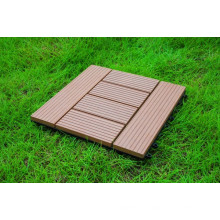 DIY-zusammengesetzte Bodenbelag-Fliesen / WPC, die Fliesen ineinander greifen