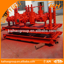 API type manual and hydraulic choke manifold for oilfield equipment