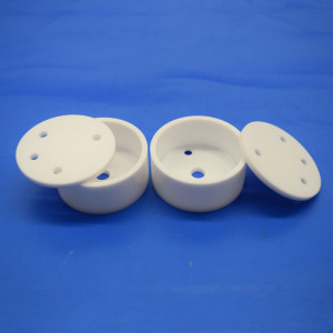 Zirconia Ceramic Crucible with Porous Cover