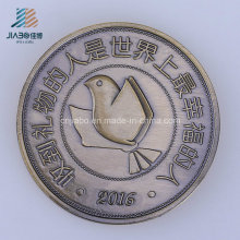 Die Casting Metal Craft Logo Custom Bronze Coin for Souvenir Gift