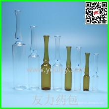 Ampolla de vidrio medicinal