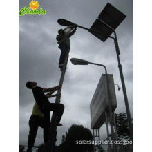 galvanized lighting pole anti-theft LED solar street light