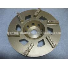 PCD rectificadora de discos de la rueda expoxy, pegamento, pintura de piso de hormigón
