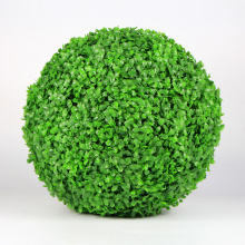 New design natural artificial grass ball garden fence for decoration
