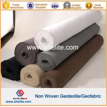 Negro Blanco Gris Color Tejido no tejido Geotextil 100g a 1300g