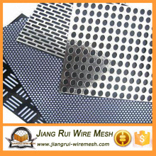 Galvanized stainless steel perforated metal mesh