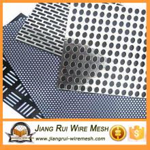 Оцинкованная перфорированная металлическая сетка из нержавеющей стали