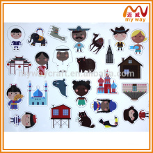 China Factory OEM Custom Puzzle Fridge Magnet for Cheap Promotion Gifts
