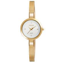 W4807 mesh stainless steel watches ladies elegant wrist watch