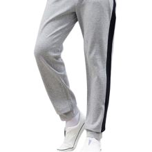 Mens Custom Casual Side Stripe Cotton Sports Pants
