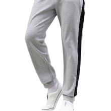 Pantalon de sport en coton à rayures latérales pour hommes