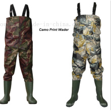 OEM Nylon Waterproof Fishing Chest Wader Overalls Pants