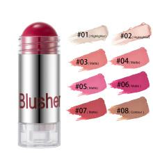 Make Your Own Logo Face Makeup Blush Tint Vegan Cruelty Free Cosmetics Makeup High Pigment Private Label Cream Blush Stick