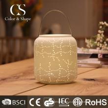 Традиционный стиль светодиодов ресторан настольные лампы с формы опарника