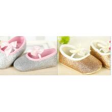 sapatos populares com nó em arco para bebês