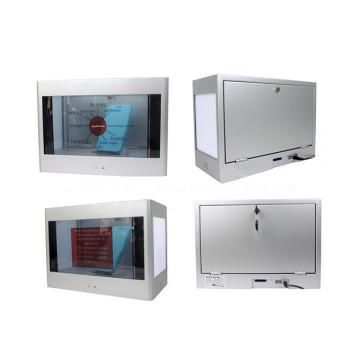 Transparentes Panel mit 21,5 Zoll LCD