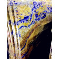 Semi Precious Blue Granite Clear Transparent StoneTiles