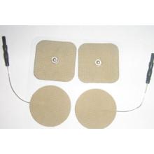 Elektrodenpad mit Knopfverschluss-Schnappverbindung