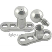 Hot sale Micro Dermal Anchors with Titanium Color ball Tops