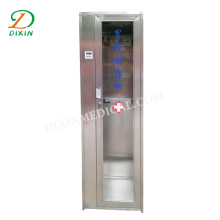 Single door stainless steel endoscope storage cabinet