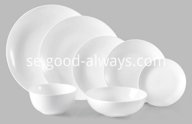 Coupe dinnerware