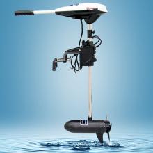 HANGKAI 45 libras empuje travesaño montado Motor Trolling eléctrico agua salada