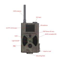 Waterproof a câmera infravermelha da caça da fuga dos animais selvagens de 1080P 12MP que envia imagens ao usuário