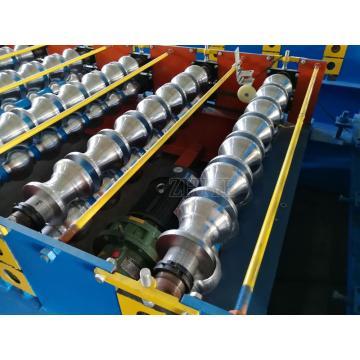 PLC kontrol sistemi Sırlı Tavan Rulo Şekillendirme Makinesi