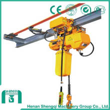 Palan à chaîne électrique à haute efficacité de travail