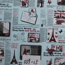 PVC Kunstleder für Cafe Stuhl mit hoher Qualität (HS039 #)