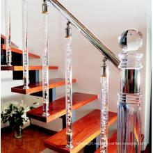 Pilar de la escalera de la burbuja del LED del cristal (JD-LT-Q0010)