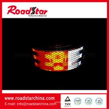 Лента светоотражающая маркировка транспортных средств DOT-C2