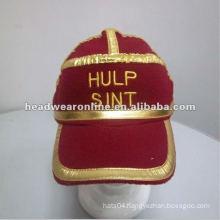 custom polar fleece cap /baseball hat with embroidery