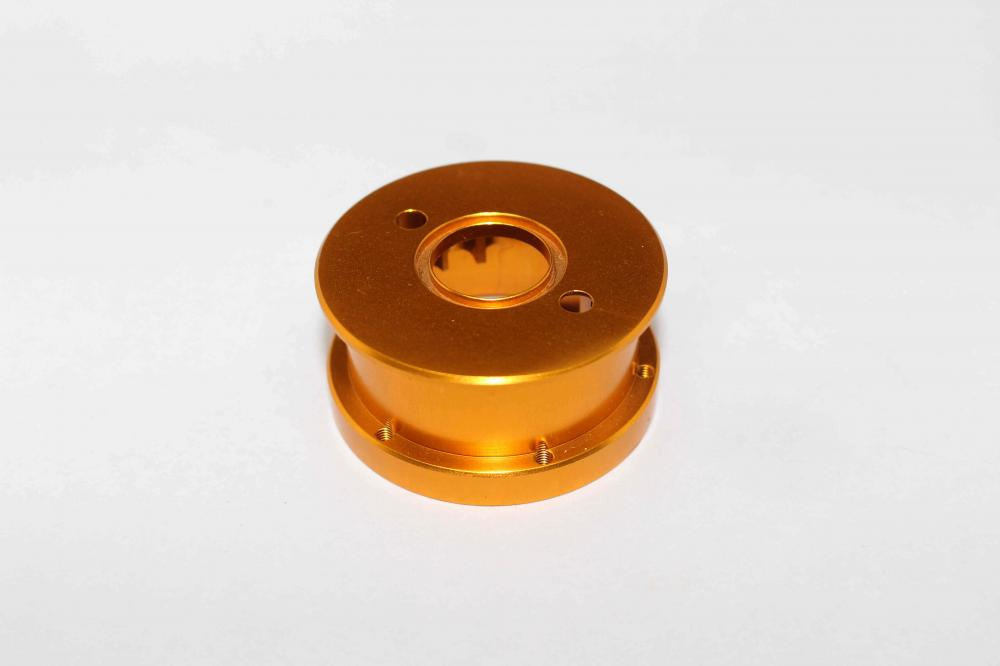 Cnc Parts orange anodized