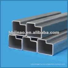 Trapezoidal Tubo y tubo de acero sin costuras irregulares