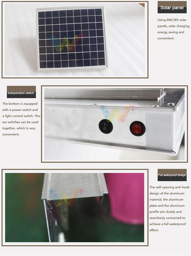 Aluminum Solar Traffic Sign Board_04