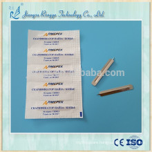 Sterilized stainless steel blood lancet made in China