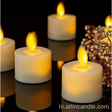 home decor moving wick tealight candle