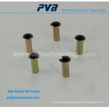 Maintenance-free plain bearing material bronze backing,Flanged bush,E40 bushing standard
