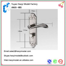 Anodização cnc fresagem usinagem precisão personalizado protótipo moderno porta puxadores