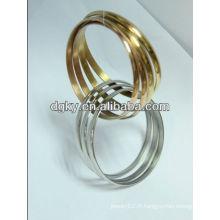Bracelet indien en acier inoxydable Bracelet Bracelet Femme