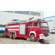 Carro de bombeiros da torre de água de Howo 6x4