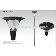 new and cheap plastic led garden solar lamp