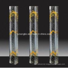 Glasdekoration Säule/Glas Handlauf/Home