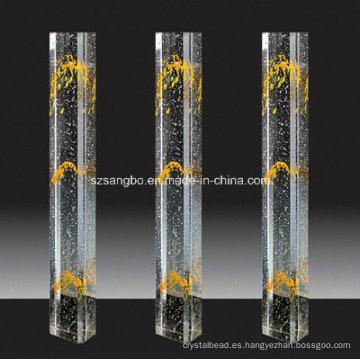 Vidrio cristal Pilar barandilla/decoración casera