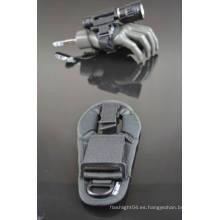 Buceo de alto rendimiento o linterna onland guantes de nylon ajustables