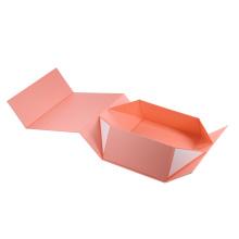 Wholesale custom logo cardboard foldable magnetic packaging carton gift paper box
