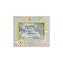 Cute Baby Wooden Picture Frame for Baby Gifts
