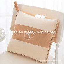 Almohada de algodón creativa y manta para uso dual