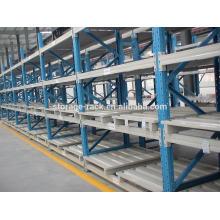 Sistema de estantería de paleta de acero pesado ajustable